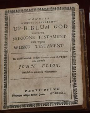 Eliot Bible title page
