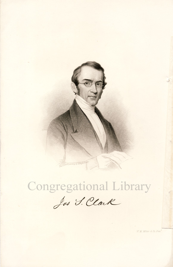 portrait of Joseph Clark