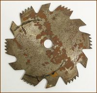 the accidental saw blade