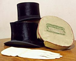 top hats and the glove of questionable origin