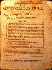 """Meritorious Price"" title page"