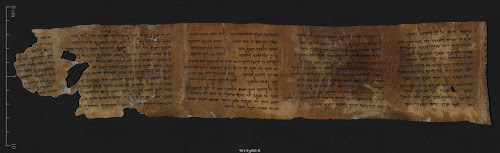 The Ten Commandments (Deuteronomy). Photo by Shai Halevi, courtesy of Israel Antiquities Authority