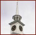First Church Shrewsbury spire