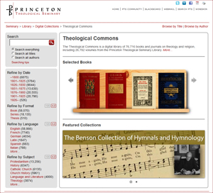 Theological Commons homepage