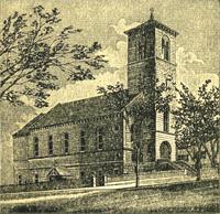 First Parish Church in Haverhill, ca. 1895