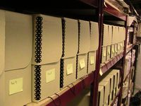document boxes in our archive