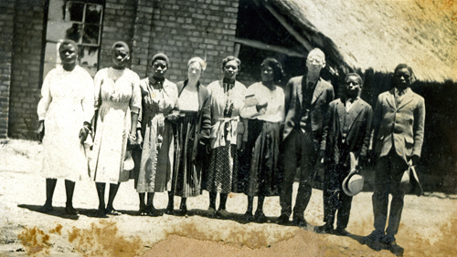 "Southern Rhodesia Mission collection, ""Chikore School, 1922"""