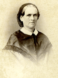 portrait of Lydia Vose Buck Snow