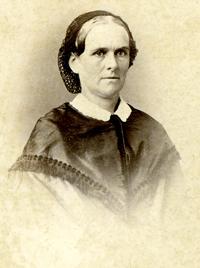 portrait of Lydia Vose Buck Snow
