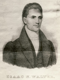 portrait of Isaac Walter