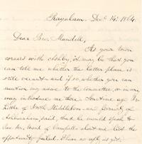 excerpt from Pratt's letter
