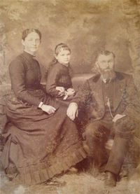 The Gould family, 1897