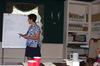 Jessica teaching in Oak Creek